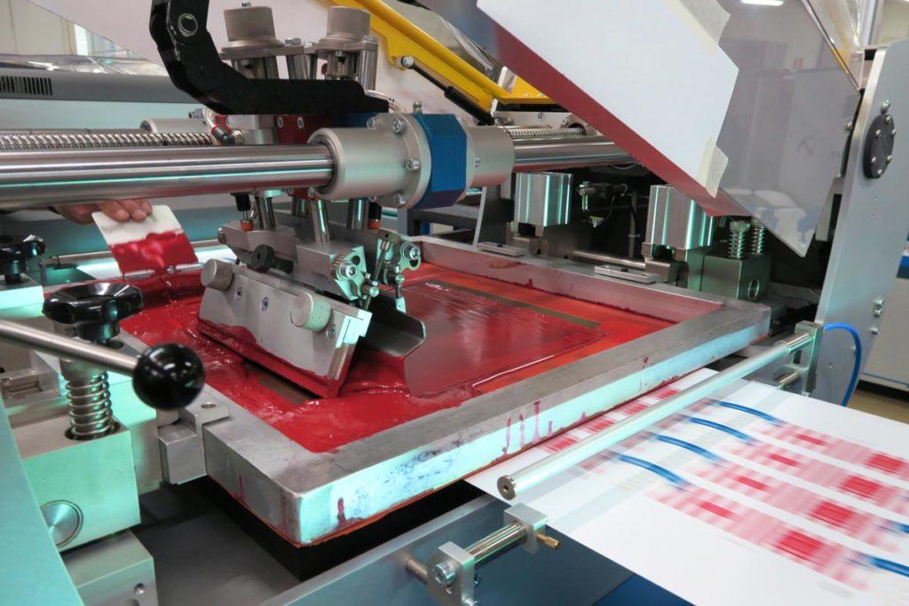 Druck und Werbezentrum Lengerich - Produktion Siebdruck